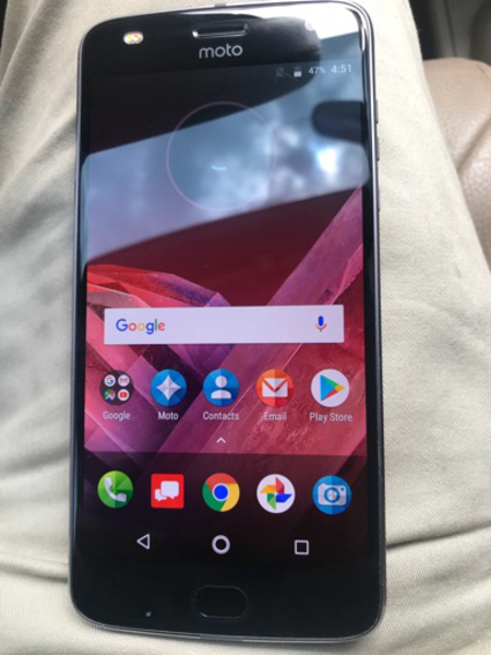 Used Moto Z2 play brand new condition  in Dubai, UAE