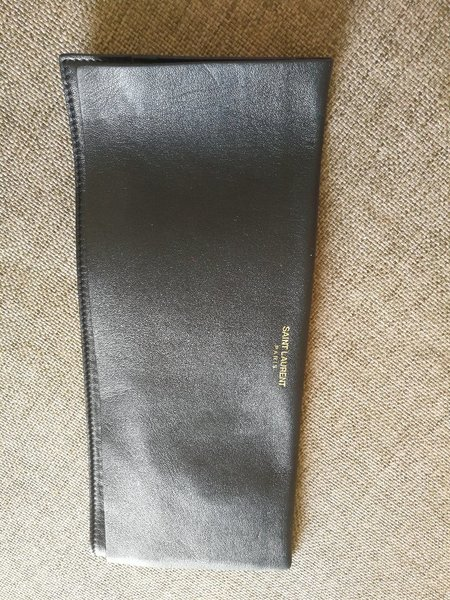 Used New. AUTHENTIC YSL pouch in Dubai, UAE