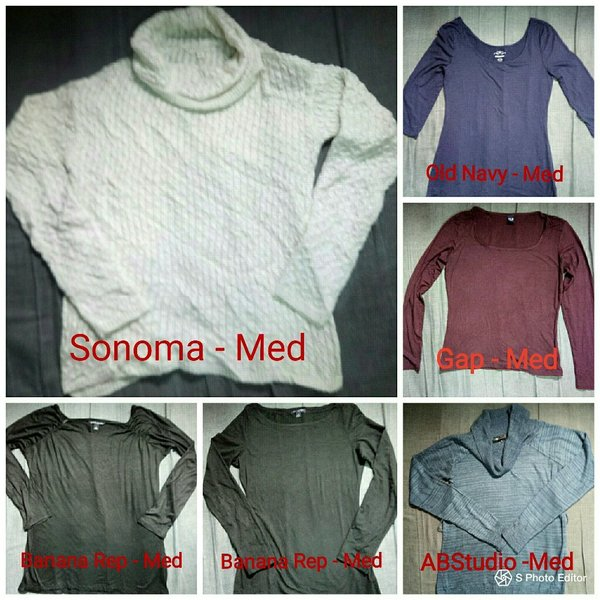 Used 6pcs of Tops in One price All Med Size in Dubai, UAE