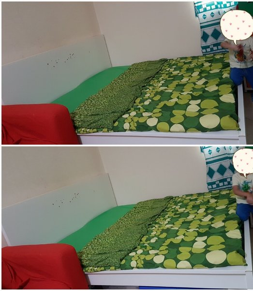 Used Ikea King Sized Bed without mattress in Dubai, UAE