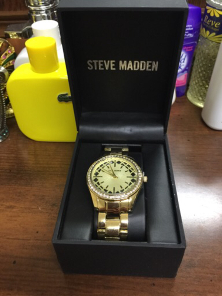 Used Steve Madden brand new wristwatch  in Dubai, UAE