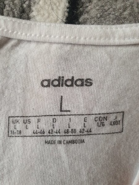 Used Adidas tank top size Large for women in Dubai, UAE