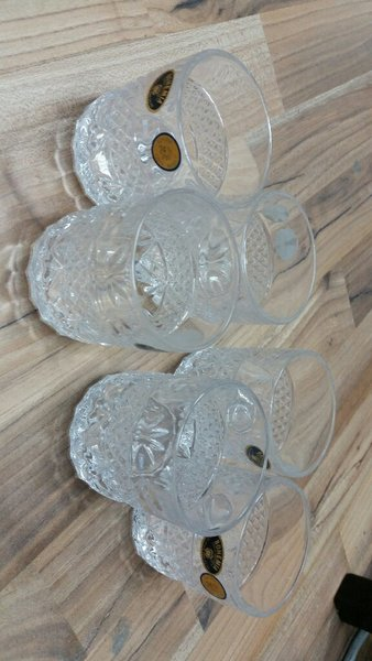 Used Bohemia cups 6 pcs in Dubai, UAE
