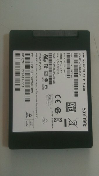Used Sandisk ssd 512gb in Dubai, UAE