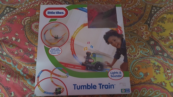 Used ELC new train with box and ikea abacus in Dubai, UAE