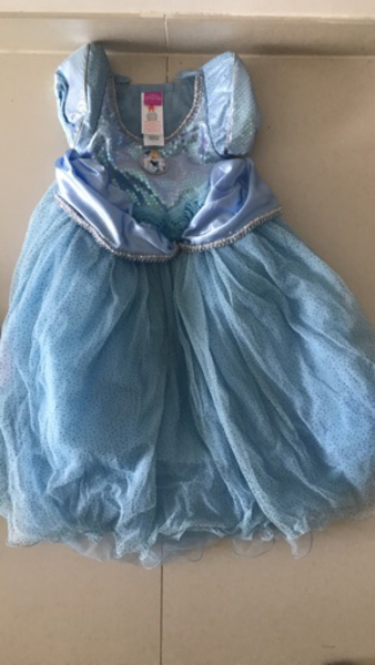 Cinderella Costume New 3-4yrsOld