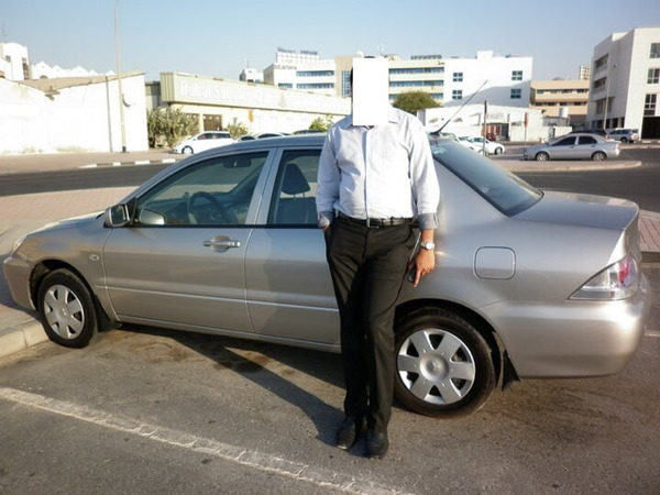 Used lancer 2010 in Dubai, UAE