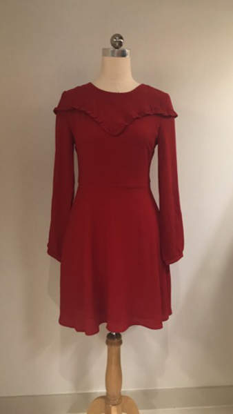 Used New Look Red Long SleeveDress  in Dubai, UAE