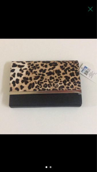 Used Clutch Animal Print Leopard Brandnew  in Dubai, UAE