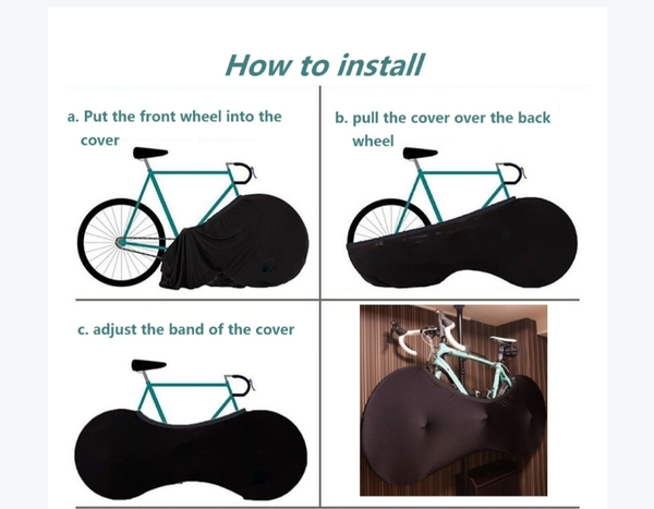 Used Bicycle tire protection, black ! in Dubai, UAE