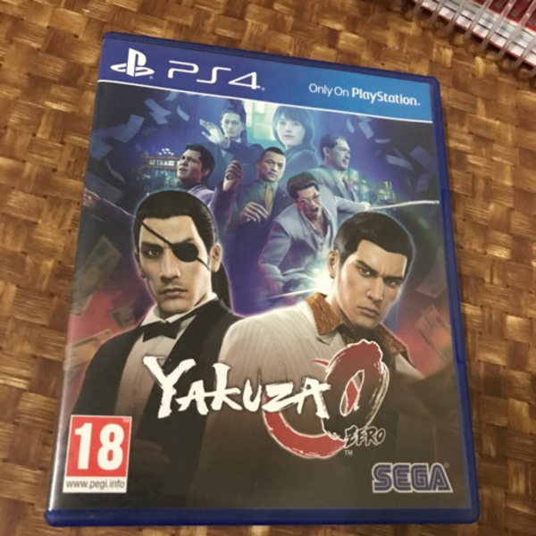 Used Yakuza 0 ps4 in Dubai, UAE