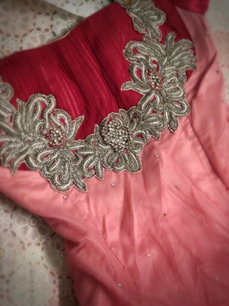 Used A pink cinderella gown in Dubai, UAE