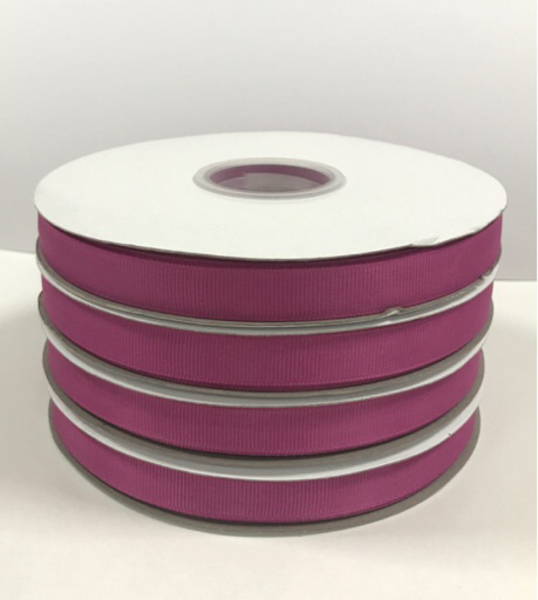 Used Four Burgundy Pink Grosgrain Ribbon  in Dubai, UAE