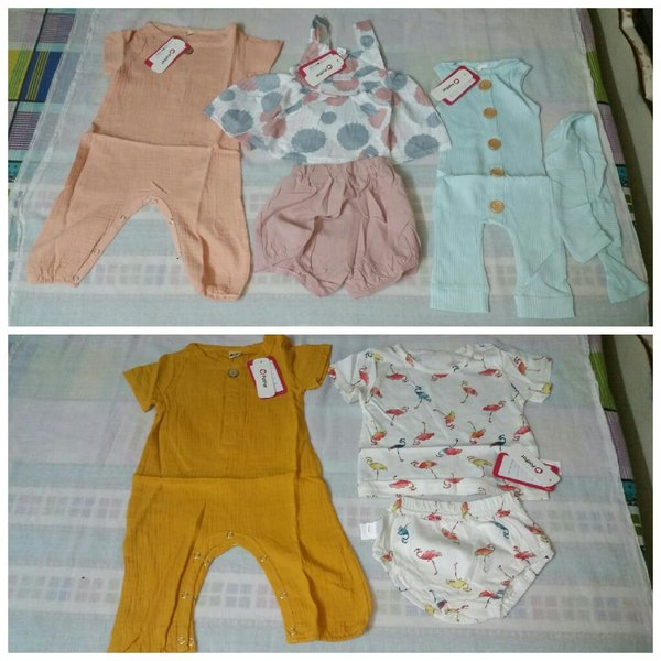 Used Tops & Pants,Babys Sets,Jumpsuits 20sets in Dubai, UAE