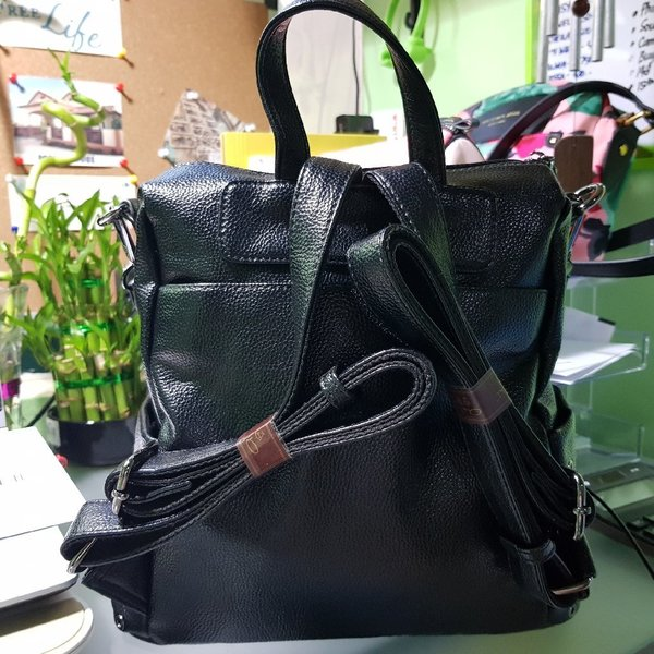 Used LEATHER BACKPACK 2 WAY in Dubai, UAE