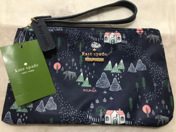 Used Kate spade wristlet blue in Dubai, UAE
