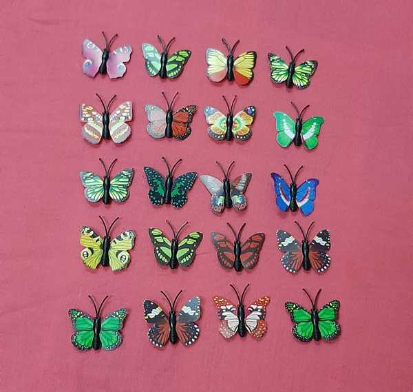 Used Mixed butterfly magnet for decoration in Dubai, UAE