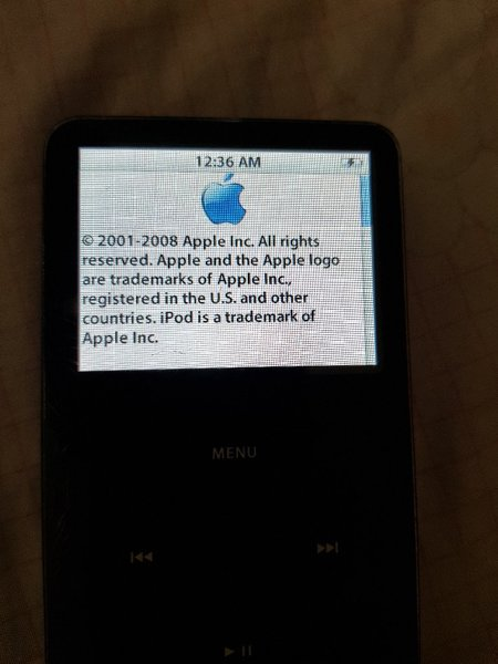 Used Apple iPod 5.5 genaration 80GB in Dubai, UAE