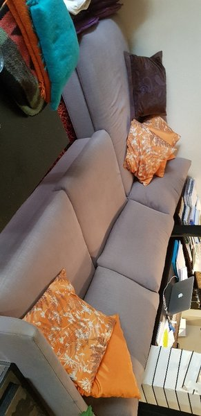 Used Crate & Barell L-Shaped Couch in Dubai, UAE
