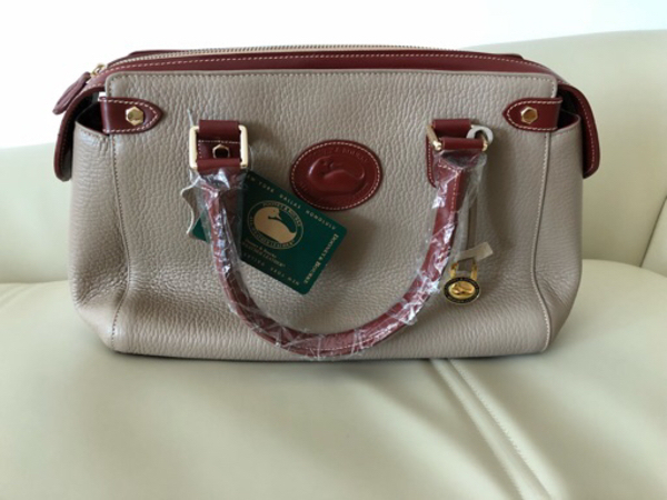 Used Dooney & Bourke leather bag in Dubai, UAE
