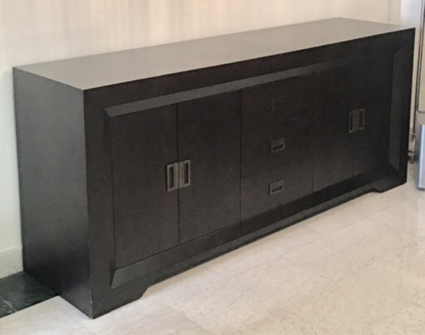 Used Console dark brown color  in Dubai, UAE