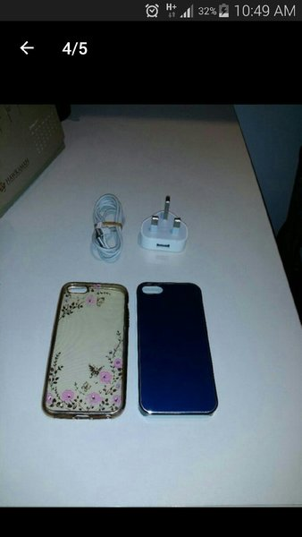Used IPhone 5 Original 16 GB  With Cover🎁 in Dubai, UAE