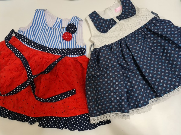 Used 12 pcs Baby girl clothes in Dubai, UAE
