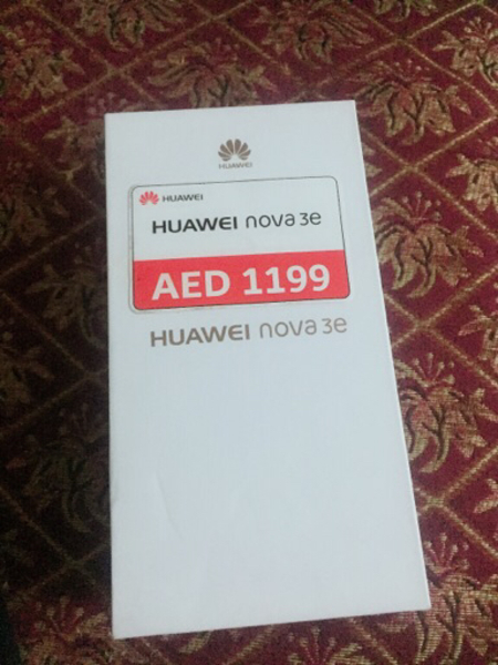 Used I am selling Huawei Nova 3e original in Dubai, UAE