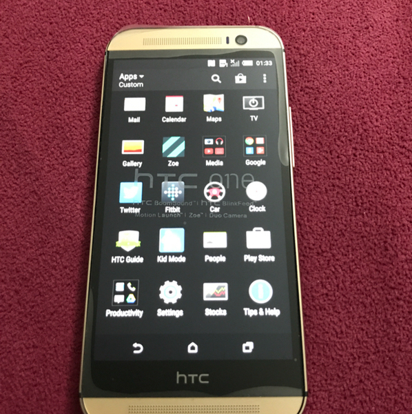 Used Htc m8 32 GB.  GOLD COLOR WITH COMPLETE  in Dubai, UAE