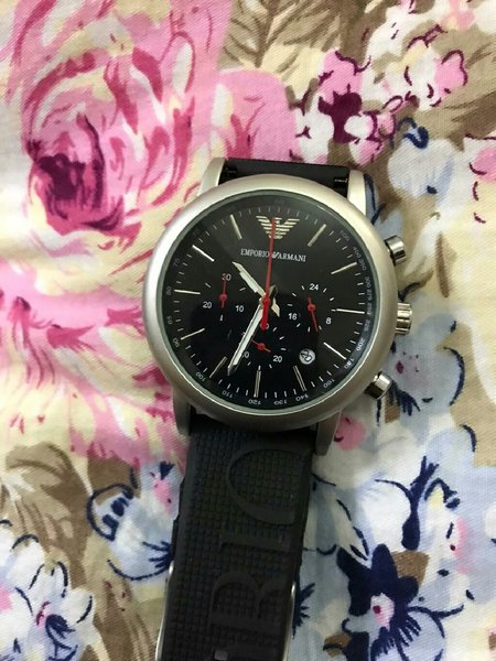 Used Armani casual watch for men  first copy in Dubai, UAE