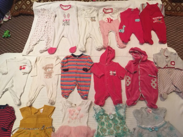 Used new born baby dress all in 120 in Dubai, UAE