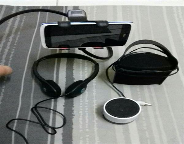 "All 4 in 1 Package "" Blutooth Speaker + Mobile Speaker + Headphone+ Mobile Stand."