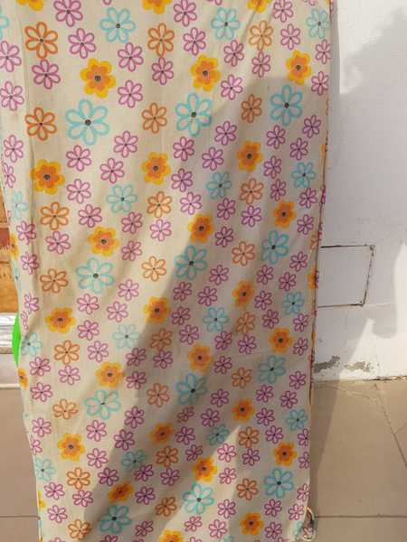 Used Juniors baby cot along with mattress in Dubai, UAE