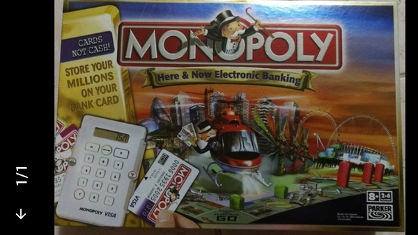 Used Credit card Monopoly (LIMITED EDITION) in Dubai, UAE