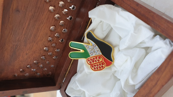 Used 10 Badges with crystals in Dubai, UAE