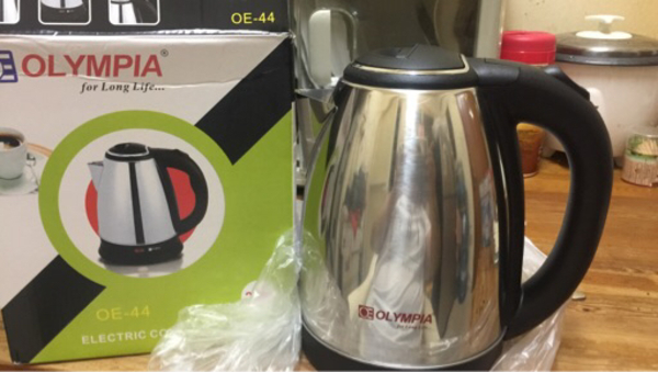 Used Olympia electric kettle in Dubai, UAE