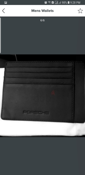 Used Brand new Porsche credit card wallet in Dubai, UAE