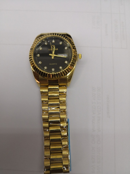 Used Luxstar Men's watch with black dial in Dubai, UAE