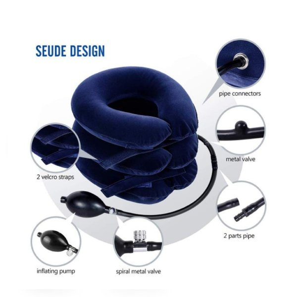 Used New neck traction pillow in Dubai, UAE