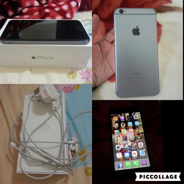 Used iPhone 6plus 128gb With Box Original Headset And Charger in Dubai, UAE