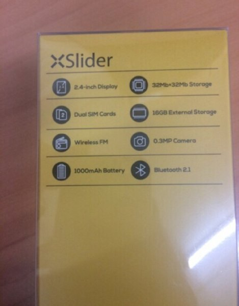 Used Xtouch mobile,slider.Brand new in Dubai, UAE