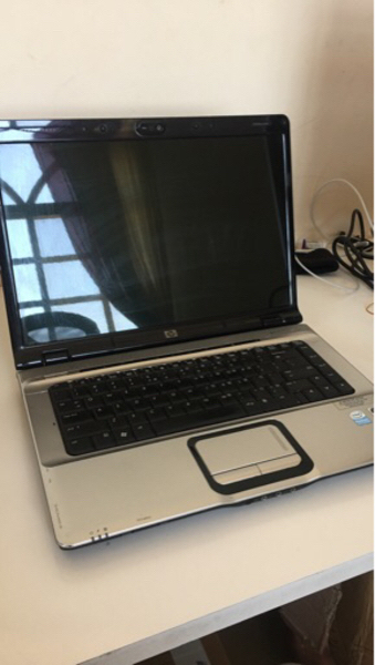 Used Laptop HP widescreen (not charging) in Dubai, UAE