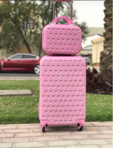 Used Cabin trolley bag with beauty case in Dubai, UAE