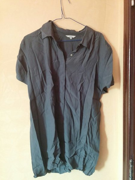 Used Long grey women's shirt. in Dubai, UAE