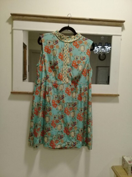 Used New Look Silk dress ltd collection Sz 18 in Dubai, UAE