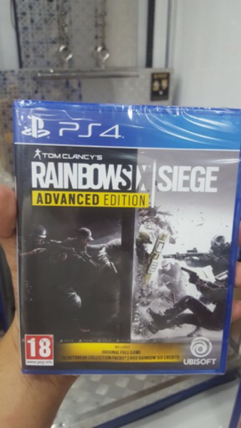 Used PS4 rainbow six siege advance edition  in Dubai, UAE
