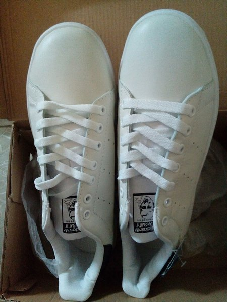 Used Brand New White/Black SS Shoes Size 42 in Dubai, UAE