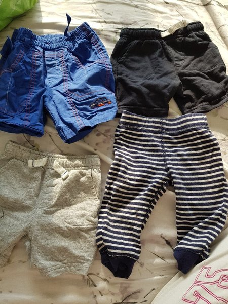 Used Baby boy shorts and pants (9 months) in Dubai, UAE