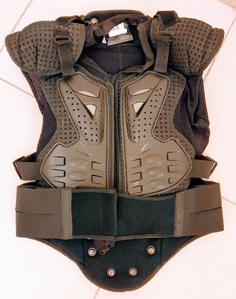 Used X Force helmet and chest Protector in Dubai, UAE