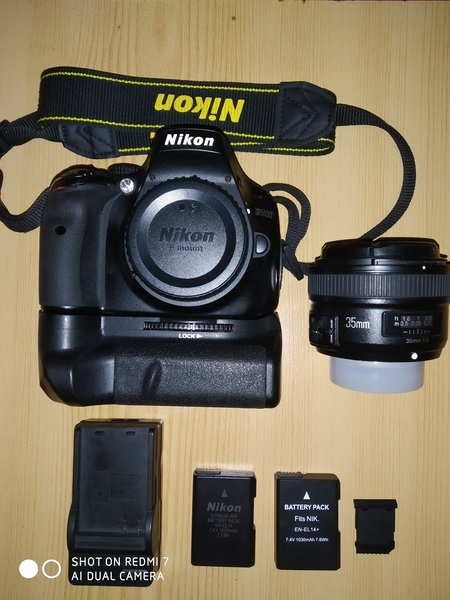 Used Nikon D5100 with 35mm lens, xtra battery in Dubai, UAE